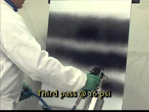 Setting Up A Siphon Feed Spray Gun