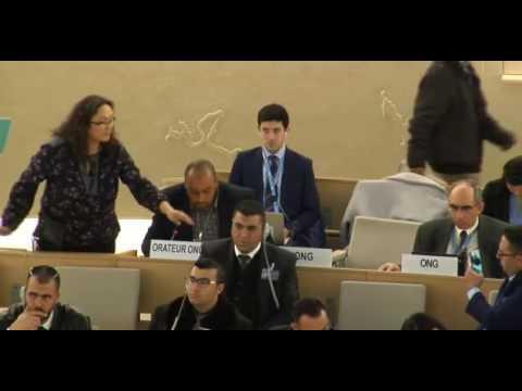 34th Regular Session Human Rights Council - General Debate Item 7 - Mr. Naser Abuhammoud