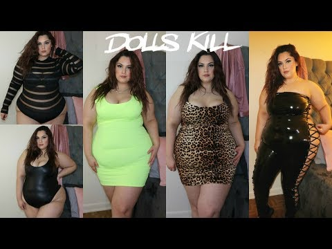 Dolls Kill PLUS SIZE Haul | Posi Claudia