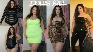 Dolls Kill PLUS SIZE Haul | Posi Claudia