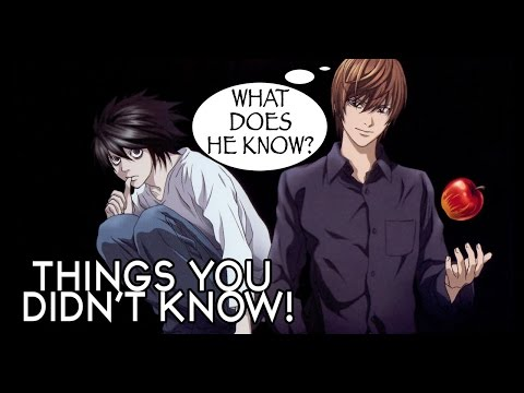 7 Things You Probably Didn't Know About Death Note!