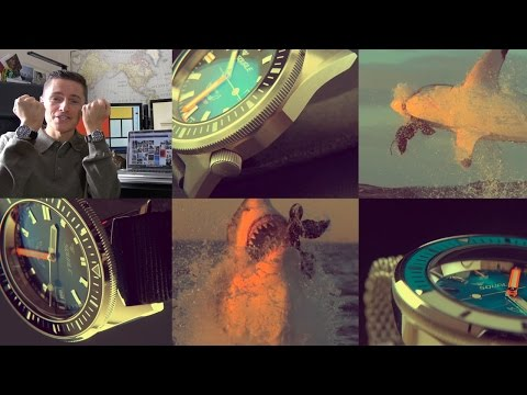 """Birth Of An Apex Predator - Squale 60 ATMOS """"Squale-matic"""" Dive Watch Review + 1521 Comparison"""