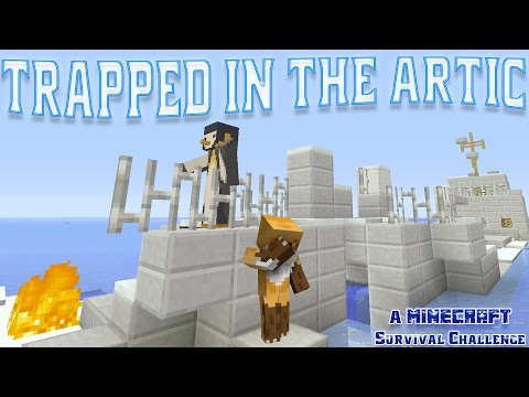 SB737 TRAPPED US IN THE ARCTIC!!! -|- Minecraft Xbox Arctic Survival Challenge {1}