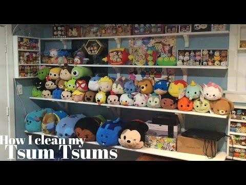 How I clean my Tsum Tsums!