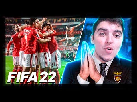 VAMOS JOGAR CONTRA O BENFICA!!! #2   FIFA 22