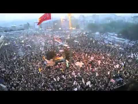 Taksim Böyle Kalabalığa daha önce hiç şahit olmadı  Taraftar Grupları 08.06.2013