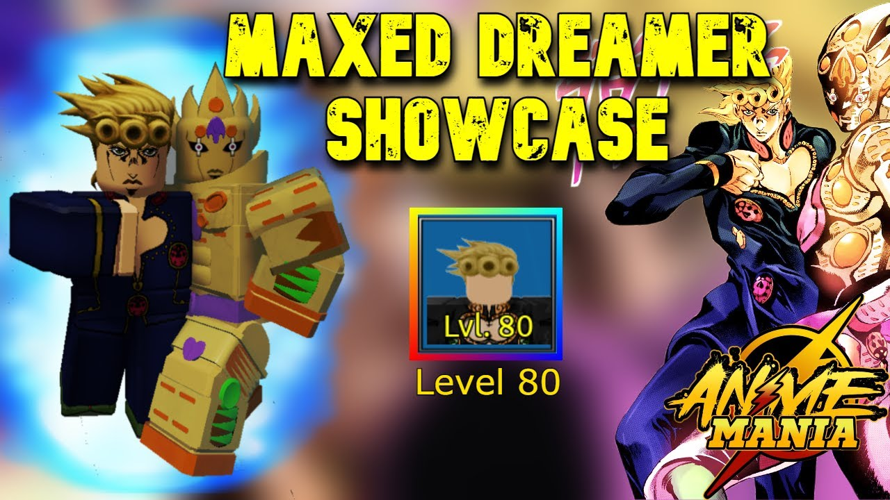 Download THIS CHARACTER MIGHT BE BETTER THAN ASCENCION? Maxed Dreamer Showcase in Roblox Anime Mania
