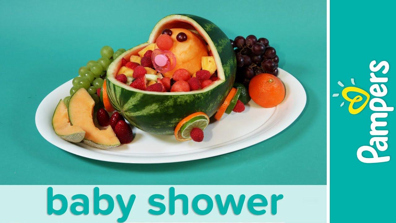 Baby Shower Ideas: Stroller Fresh Fruit Salad Recipe ...