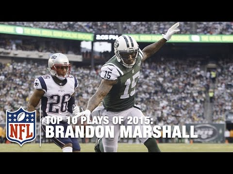 Top 10 Brandon Marshall Plays of 2015 | NFL
