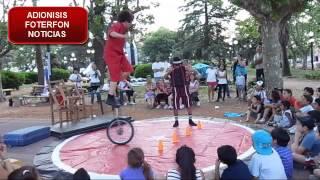 Payasos Malabaristas en Carmen de Areco  (19-10-2013)