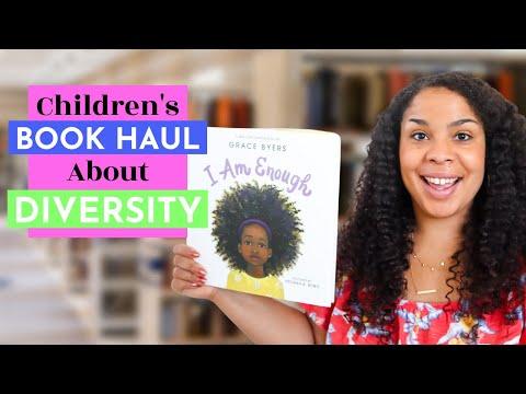 Children's Books That Celebrate Diversity: Children's Book Haul for Toddlers & Preschoolers (2020)