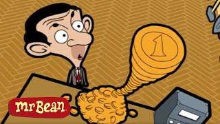 The COINS | Funny Clips | Mr Bean Cartoon Season 1 | Mr Bean Official