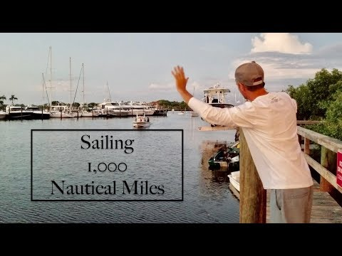 Guy and his 11yr old son Sail over 1,000nm from VA to FL