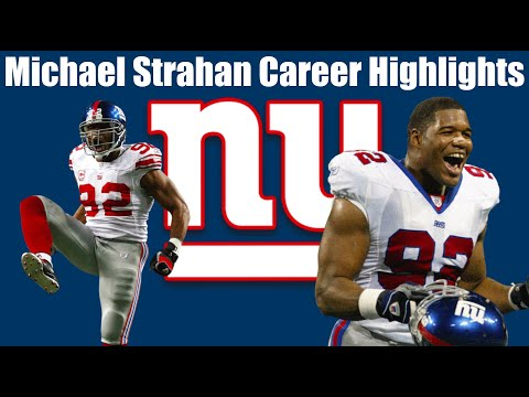 Michael Strahan NY Giants Career Highlights