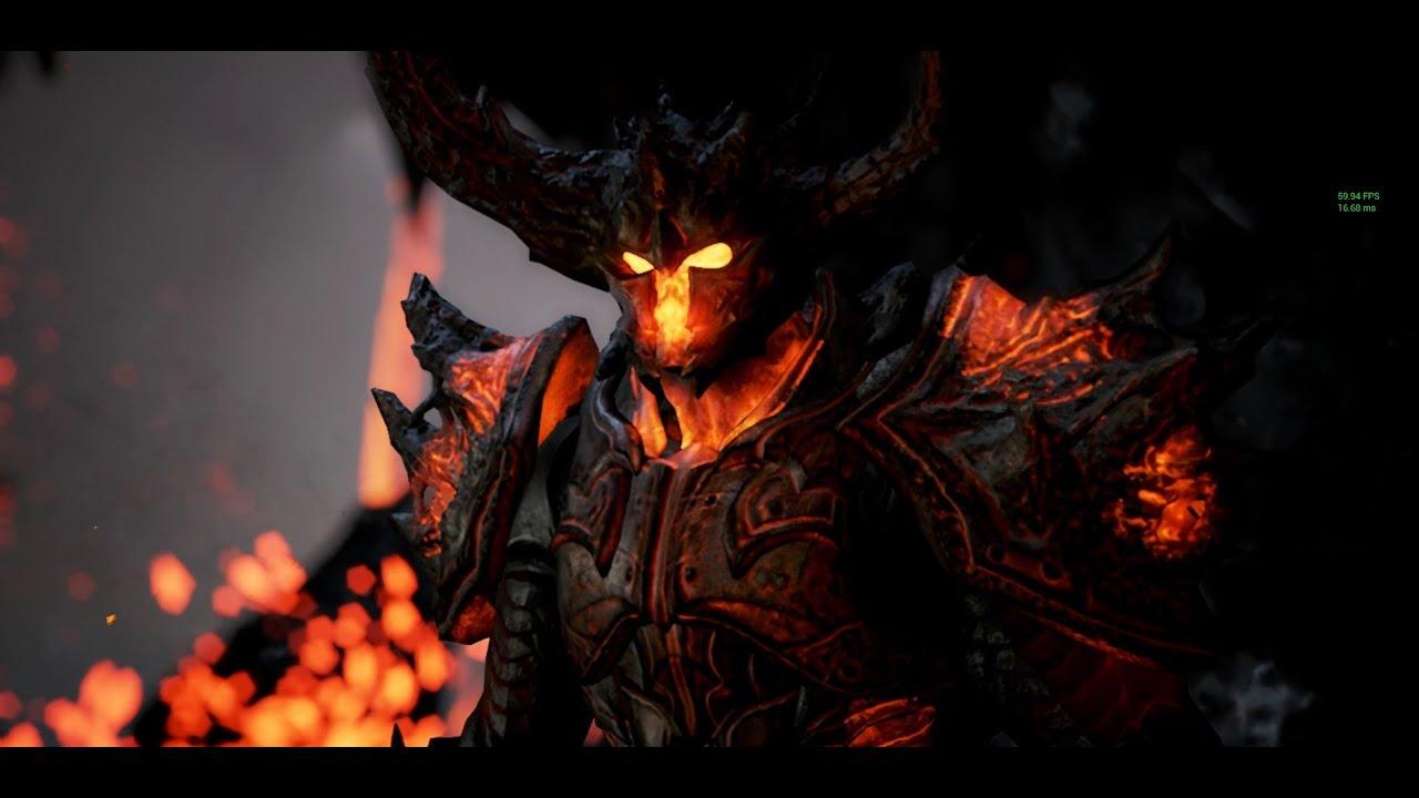 Unreal Engine 4 Elemental Tech Demo DX12