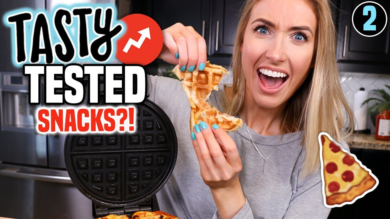 TESTING TASTY Buzzfeed Recipes || SNACKS Edition: Were They Any Good?!