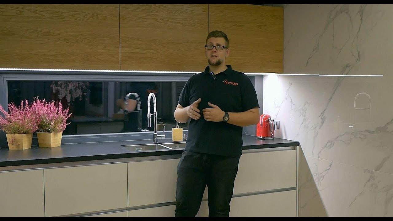 Profil Led W Oświetleniu Kuchni Oświetlenie Blatu Kuchennego Profil Triada