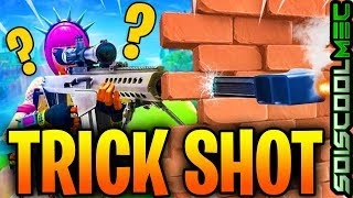 FORTNITE TRICK SHOT: HOW TO TIRER A FORTNITE MUR, FORNitE GLITCH SAISON 9