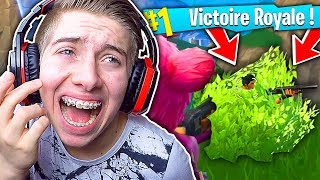 J'AI RENCONTRÉ LE PLUS GROS BAMBI DU MONDE EN PLEIN TOP 1 SUR FORTNITE BATTLE ROYALE !!!
