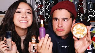 Download GUESSING MAKEUP PRICES CHALLENGE w/ KIAN LAWLEY !! Mp3 and Videos