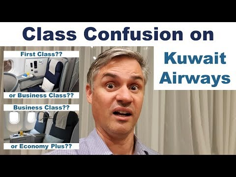 Class Confusion On Kuwait Airways