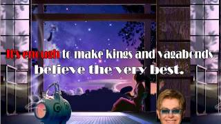 Can you feel the love tonight ? - Karaoke music