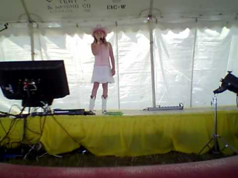 """Marion Shelby Singing """"Giddy On Up""""  Karaoke by Laura Bell Bundy"""