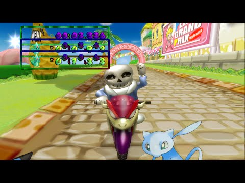 Mkwii Sans In Mkw You Re Gonna Have A Bad Time New Custom Character Dl