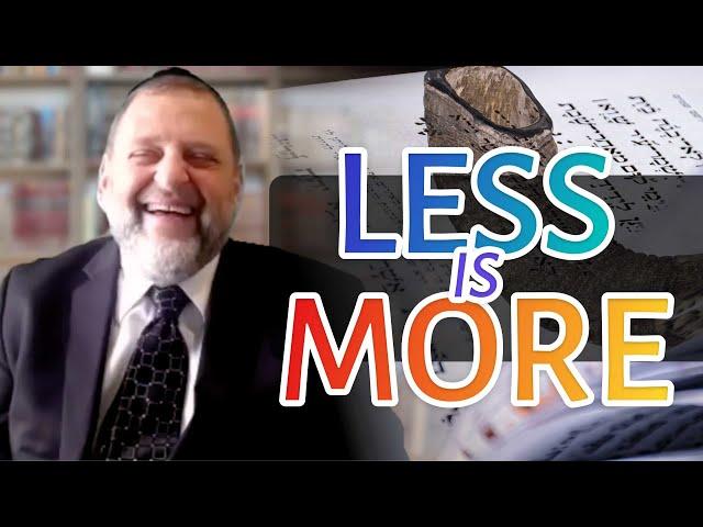 106: Tefilla: Less is More (Yamim Noraim Tefillos Pt. 1)