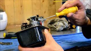 Чистка и ремонт карбюраторов газонокосилок briggs