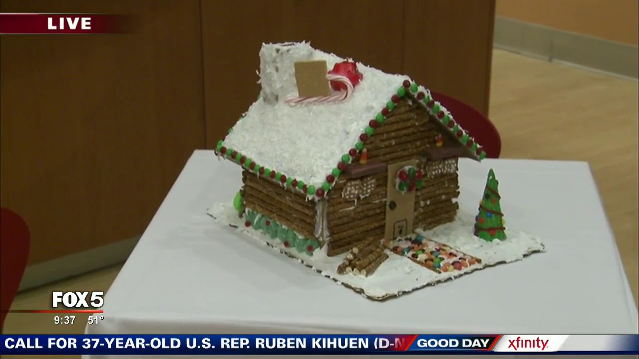Publix cooking school offers Gingerbread House classes - YouTube