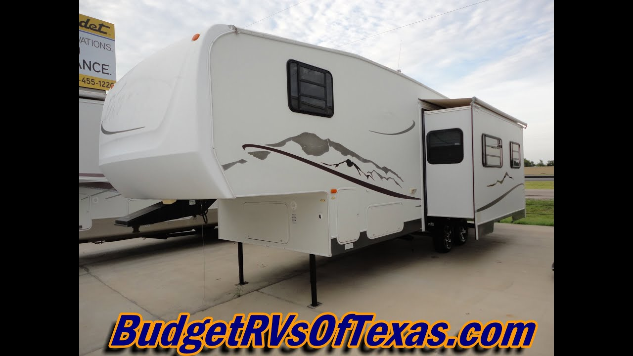2004 30ft 5th Wheel Durango 295 Bunk House By Kz Sleeps 8