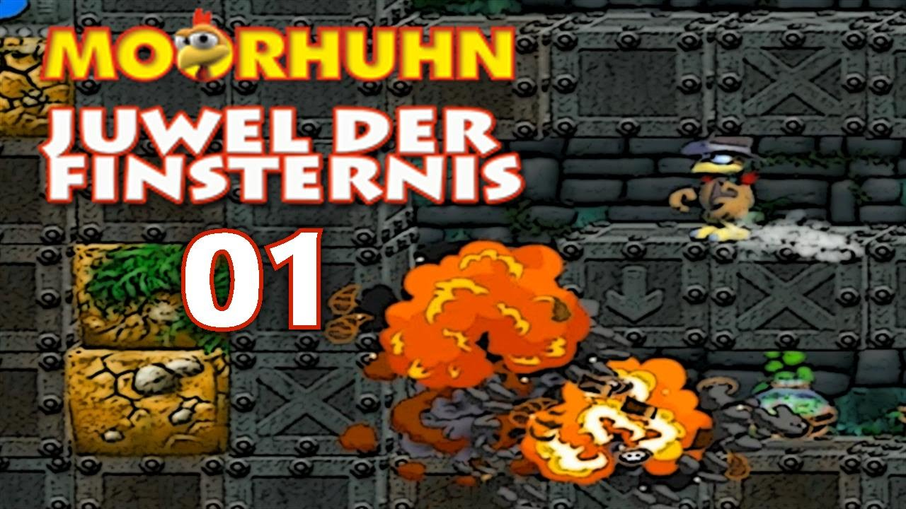 Lets Play Moorhuhn Juwel Der Finsternis German 100 Part 1