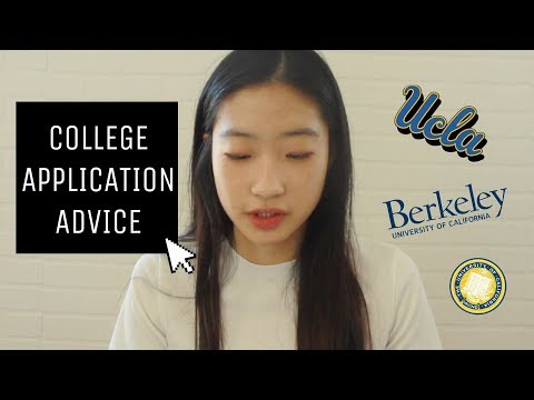 10 COLLEGE APPLICATION TIPS/ADVICE || things i wish i knew..