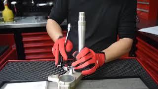 BIKESERVICE Steering Stem Bearing Separator And Puller Kit #BS9892