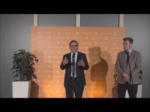 Tisková konference Lubomíra Zaorálka po představení volebního programu ČSSD