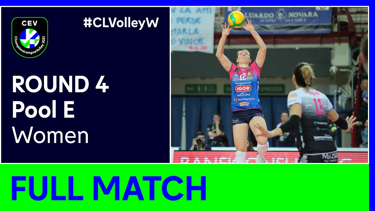 Igor Gorgonzola NOVARA vs. Dinamo-Ak Bars KAZAN - CEV Champions League Volley 2021 Women Round 4