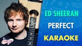 ed sheeran perfect karaoke cantoyo