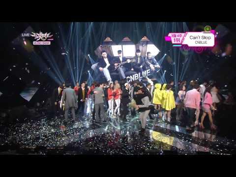 140328 CNBLUE No 1 ending @ Music Bank 1080P