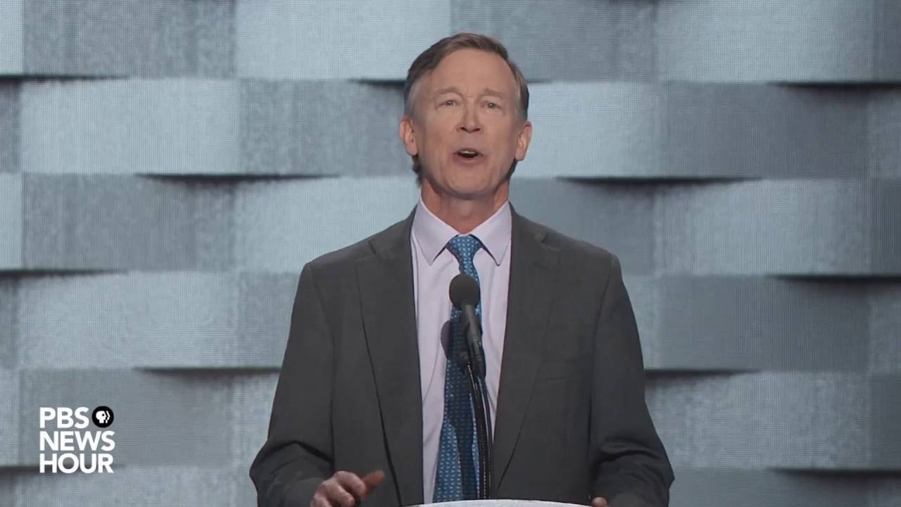 Download Watch Gov. John Hickenlooper's full speech at the 2016 Democratic National Convention