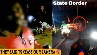 Caught By Police☹️- He Asked Us Bribe & Shouted On Seeing My Camera 😠 | Night Ride Went Really Wrong