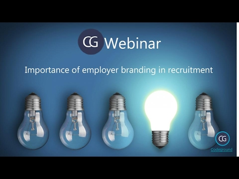 Webinar On Importance Of Employer Branding In Recruitment