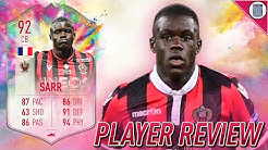 92 SUMMER HEAT SARR PLAYER REVIEW! SBC PLAYER - FIFA 20 ULTIMATE TEAM