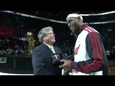 Miami Heat 2012 Ring Ceremony