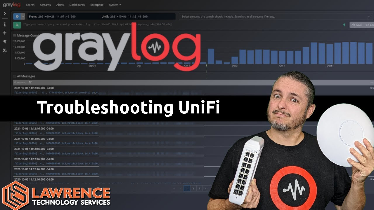 Using Graylog and pfsense to Troubleshoot a UniFi Syslog Issue