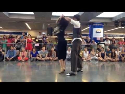 Say Something-Nina Perez & Sandro Soncini-Argentine Tango Performance - Baila Vancouver Dance School