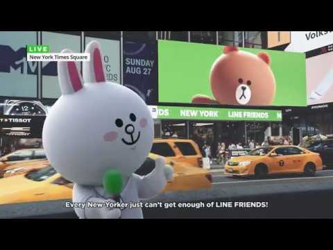 Hello, this is Cony Live from New York!📹 🎤