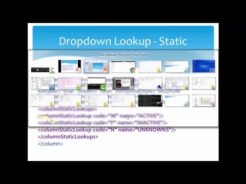 Informatica Data Director  - IDD Lookups   Static and Foregn key column lookup