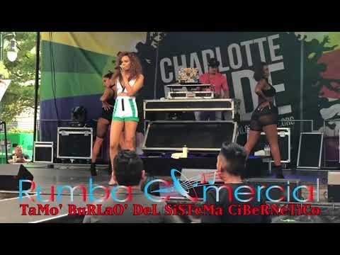 Leslie Grace Ft Becky G - Díganle (Charlotte, NC) [RumbaComercial.Com]