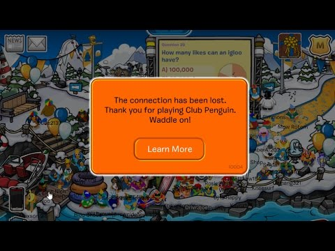 Club Penguin's Final Minutes